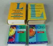 Konvolut Wörterbücher - LATEINISCH + ENGLISCH + RUSSISCH + GRIECHISCH /S175