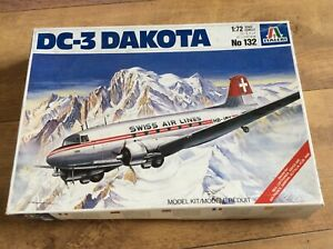 MODEL KIT DC-3 DAKOTA SWIAA AIR LINES    BY ITALERI   1:72