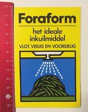 Aufkleber/Sticker: Foraform - Het Ideale Inkuilmiddel - Vlot  (090616179)