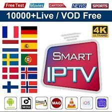 ABONNEMENT IP-TV 12 MOIS 5000 CHAINES + VOD