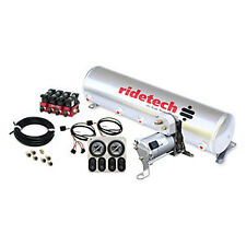 Ridetech 30154100 RidePRO Analog Control 5 Gallon Tank Dual Compressors