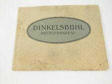 Vintage Photo Postcard Dinkelsbuhl Mittelfranken German Photo Book Germany