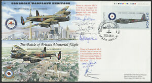 2000 The Battle of Britain Memorial Flight Cover, Signed, Inserts