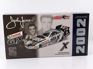 Action John Force Castrol GTX Elvis 25th Chrome MUSTANG FUNNY CAR 1:24 2002 NIB