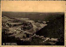Membre sur Semois Belgien 1937 frankierte AK Carte Postale CPA Vu des Piquettes