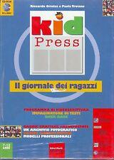 KID PRESS Il Giornale Dei Ragazzi (1998) PC e MAC NUOVO SIGILLATO VINTAGE