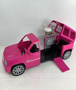 BARBIE FASHIONISTAS ULTIMATE EXPANDABLE LIMOUSINE SUV PINK CADILLAC ESCALADE