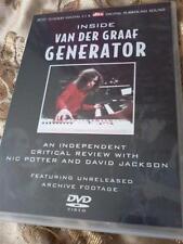 INSIDE VAN DER GRAAF GENERATOR DVD critical review POST FREE