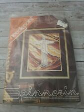 "New Needlepoint Spinnerin Canvas The Prophet 16"" x 20"" Np 196"
