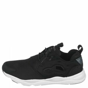 Reebok V63434 Mens Furylite Low Top Running Shoes Black Athletic Size 10 New