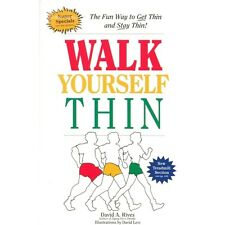 Walk Yourself Thin Walking Pedometer Weight Loss Book Paper Back