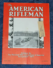 Vintage Magazine American Rifleman, MAY 1936 !!! Shooting an 80-Ton Whale !!!