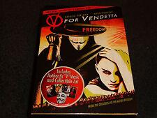 V FOR VENDETTA-FREEDOM FOREVER-Collector Ed w/ V MASK, ART-NATALIE PORTMAN-DVD