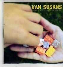 (CX175) Van Susans, Bricks Not Sticks Or Straw - 2012 DJ CD