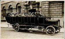 Bath. Charabanc by Arthur Stone, Maple Grove, Bath. Card # 180.