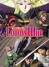 Record of Lodoss War - Collector's Set (DVD, 1998, 2-Disc Set) RARE