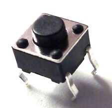 25 Stück Print Taster Drucktaster Leiterplatte RoHS Neuware