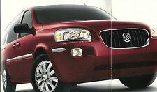 2005 BUICK TERRAZA Auto Brochure / Catalog / Pamphlet: CX, CXL,'05