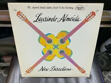 Laurindo Almeida New Directions LP Crystal Clear 1979 DIRECT DISC AUDIOPHILE EX