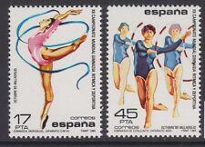 Sellos de España - 1985 Campeonato del Mundo de gimnasia en condición estampillada sin montar o nunca montada