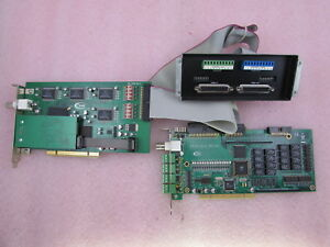 i3 Analog Devices AD-BNC16-16 ADIO-1616 AD-2016 PCI Cards + Voltage Controller +