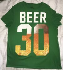 AMERICAN EAGLE AE MEN'S T-SHIRT BEER 30 -- LARGE