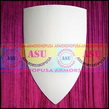 Crusader's Shield 13th Century Primed + Unpainted Medieval Wooden Shield Armour