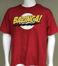 The Big Bang Theory BAZINGA! Mens Lg T-Shirt