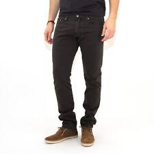 Jeans cotone MARLBORO CLASSICS uomo pantalone regular tapered grigio scuro 5024