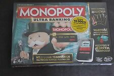 Monopoly, gra strategiczna Monopoly: Ultra banking Polish NEW POLSKA EDYCJA