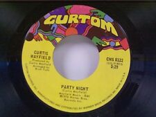 """CURTIS MAYFIELD """"PARTY NIGHT / P S I LOVE YOU"""" 45"""