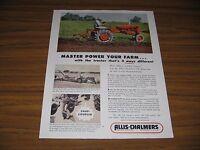 1954 Print Ad Allis-Chalmers Model CA Tractors Farmer Milwaukee,WI