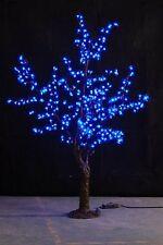 5ft height Blue LED Simulation Cherry Blossom Tree Wedding Christmas Light New