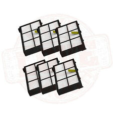 6pcs HEPA High-Performance Filters for iRobot Roomba 800 900 series 980 870 880