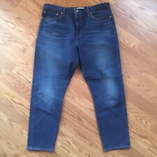 Levis Big E Blue Jeans Premium Wedgie Sz 34 Women's Button Fly