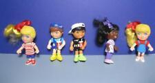 Targeteers Doll PVC figure Lot of 5-TARGET FOOD AVENUE Happy Meal Toy-girls boys