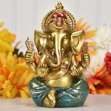 Ganesh Statue Elephant Hindu God of Success Small Ganesha Size Hindu Idol