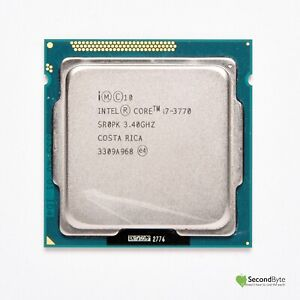 Intel Core I7 3770 3.4GHz CPU SR0PK