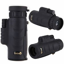 Lente Zoom 8x42 Panda viaje Telescopio Monocular Mini HD de bolsillo Outdoor Gear