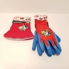 New Disney Mickey Mouse & Friends Kids Garden Gloves and Hat New With Tags