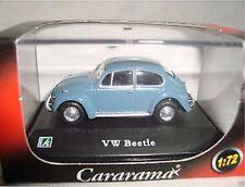 VW Beetle blue 1:72 Cararama suberb detail