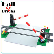 Hall of Bricks 1000 - Eisenbahn Bahnübergang - Lego City Custom Set