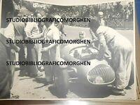 1948 FOTOGRAFIA AUTOMOBILISMO GRAN PREMIO DI NAPOLI STANGUELLINI POSILLIPO