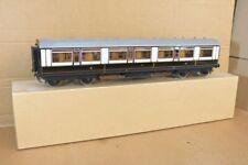 More details for  gauge 1 scale kit built brass wood lnwr 1st class mainline coach coach 4650 oc