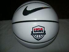 Nike Elite autograph panels Usa Basketball logo Brown White 29.5 size 7 rare