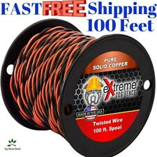 New listing Wire Fence For Dogs Underground Electric Dog 16 Gauge Twisted Extreme 100 Ft New