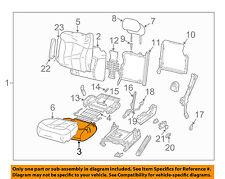 GM OEM Front Seat Bottom-Foam Cushion Pad Insert Left 12473281