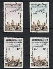 v3210 Kambodscha/ Flugzeuge  MiNr 546/49 o