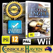 (Wii Game) Blazing Angels: Squadrons Of WWII / World War 2 (PG) (Flight Sim) PAL