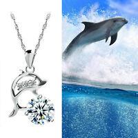 Halskette Kette Surferkette Surfer Surfbrett Surfboard Delfin Palmen Hawaii N°8